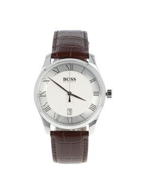 Reloj Hugo Boss 1513586 Café Obscuro Plata Caballero