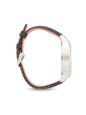 Reloj Hugo Boss 1550026 Negro Naranja Plata Caballero