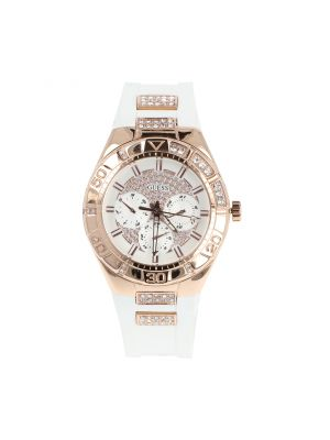 Reloj Guess W0653L4 Dama Blanco Oro Rosado