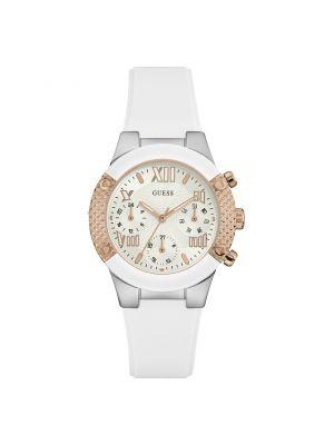 Reloj Guess W0773L1 Dama Blanco Plata