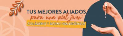TUS MEJORES ALIADOS PARA UNA PIEL JOVEN: COLAGENO Y ACIDO HIALURONICO