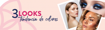 TRES LOOKS: TENDENCIA DE COLORES