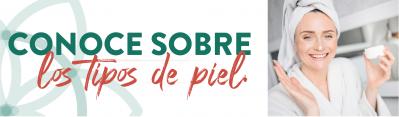 DESCUBRE CUAL ES TU TIPO DE PIEL